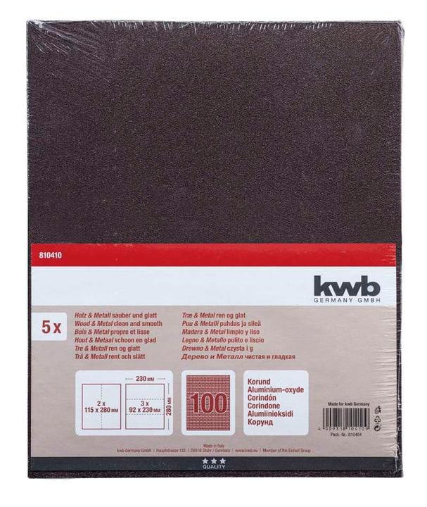 Schleifbogen Korund K 100, 5 Stk. kwb 610551900000 Bild Nr. 1