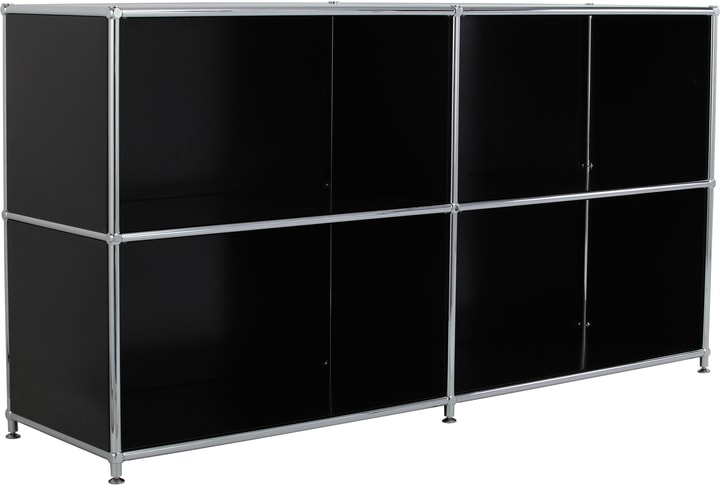 FLEXCUBE Buffet 401808900020 Dimensions L: 152.0 cm x P: 40.0 cm x H: 80.5 cm Couleur Noir Photo no. 1