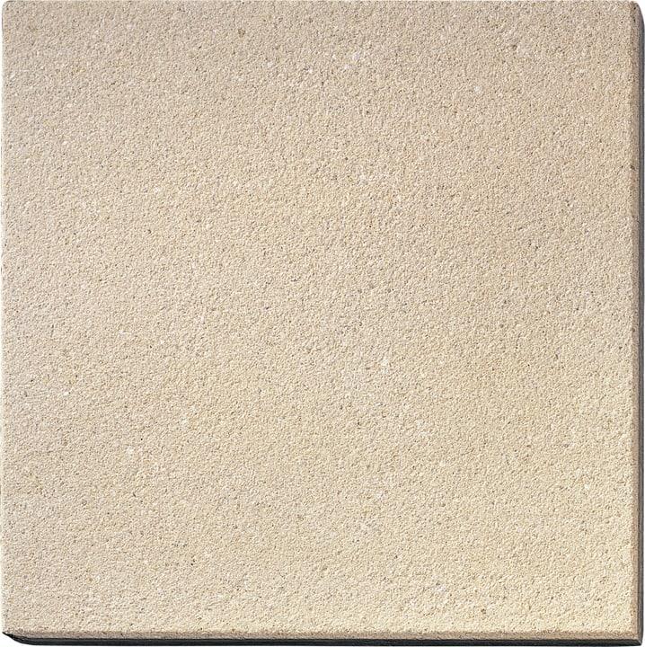 Gehwegplatten gestrahlt champa. 50x50cm 647501700000 Farbe Champagne Grösse L: 50.0 cm x B: 50.0 cm x H: 4.0 cm Bild Nr. 1