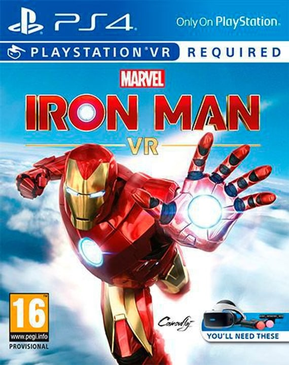 PS4 - Marvel Iron Man VR Box 785300148917 Bild Nr. 1