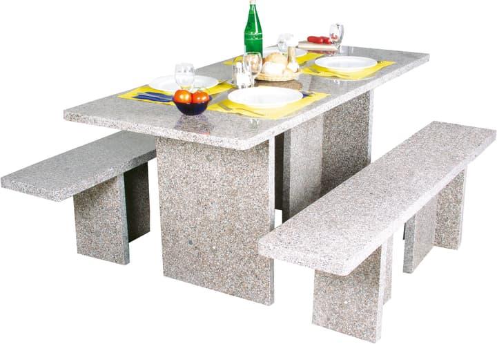 Granit-Tischgarnitur eckig 639079100000 Bild Nr. 1
