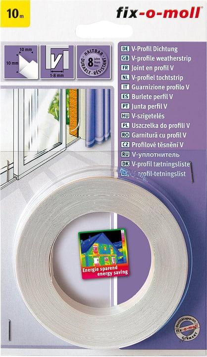 V-Profildichtung Fix-O-Moll 673003700000 Farbe Weiss Bild Nr. 1