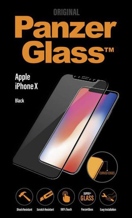 Premium iPhone X - schwarz Schutzfolie Panzerglass 798099000000 Bild Nr. 1