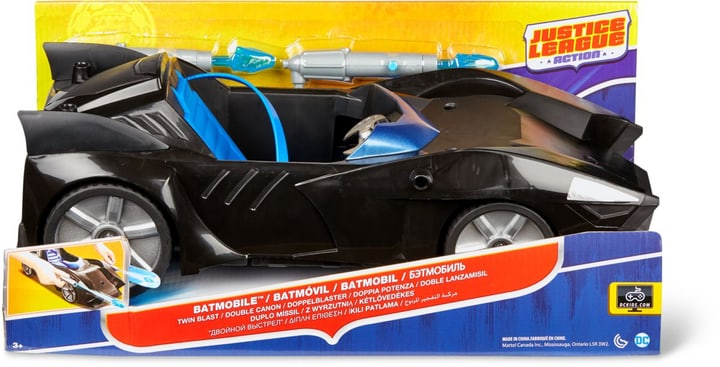 DC Justice League Batmobile Double Canaon 748641500000 N. figura 1