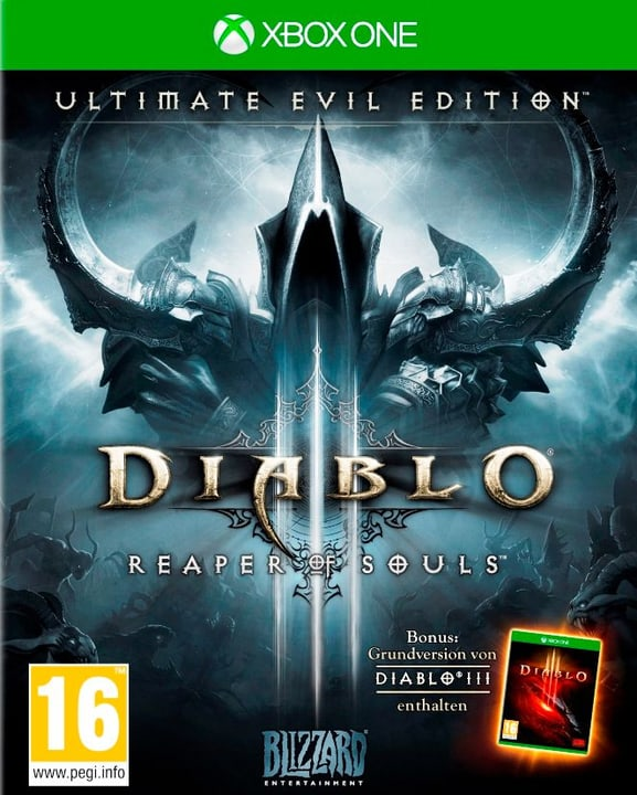 Xbox One - Diablo III - Ultimate Evil Edition Box 785300121582 N. figura 1