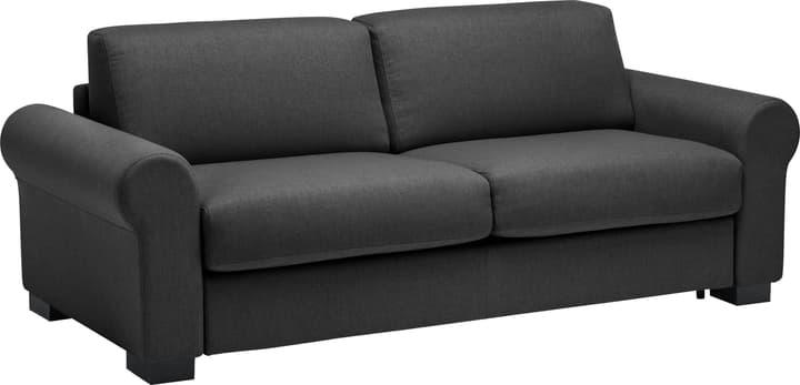 OPUS Canapé-lit 402932800000 Couleur Noir Dimensions L: 222.0 cm x P: 204.0 cm x H: 82.0 cm Photo no. 1