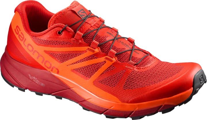 Sense Ride Chaussures de course pour homme Salomon 461698642030 Couleur rouge Taille 42 Photo no. 1