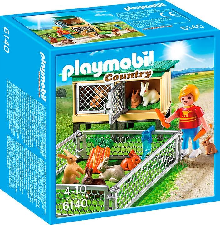 PLAYMOBIL Country Recinto dei conigli con gabbia coperta 6140 746047200000 N. figura 1