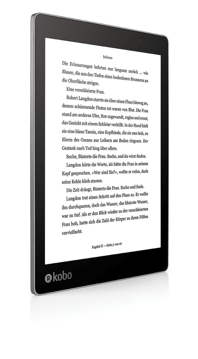 Aura One noir eBook-Reader Kobo 782673600000 Photo no. 1