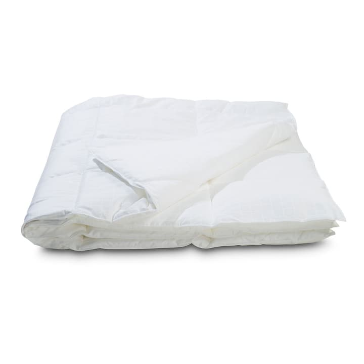 LUXERY CARO Couette 376044500000 Couleur Blanc Dimensions L: 210.0 cm x L: 200.0 cm Photo no. 1