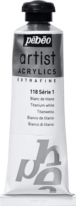 Pébéo Acrylic Extrafine Pebeo 663509011800 Couleur Blanc de Titane Photo no. 1
