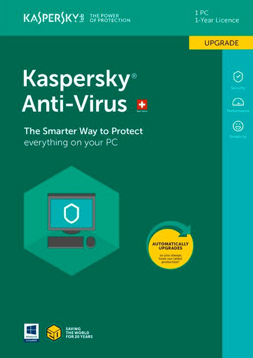 PC / Mac / Android Anti-Virus Upgrade Kaspersky 785300129050