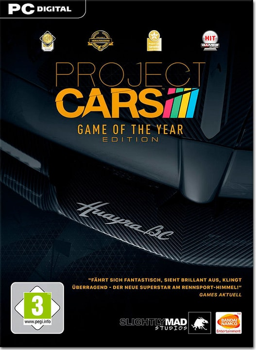 PC - Project Cars - Game of the Year - D/F/I Digitale (ESD) 785300134388 N. figura 1