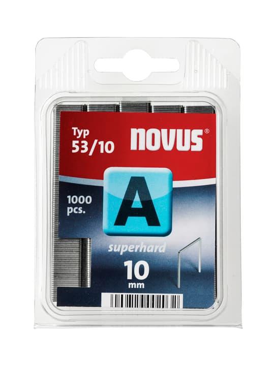Graffe in filo fino A Typ 53/10 dure NOVUS 601255900000 Taglio 10 mm superhart / 1'000x N. figura 1