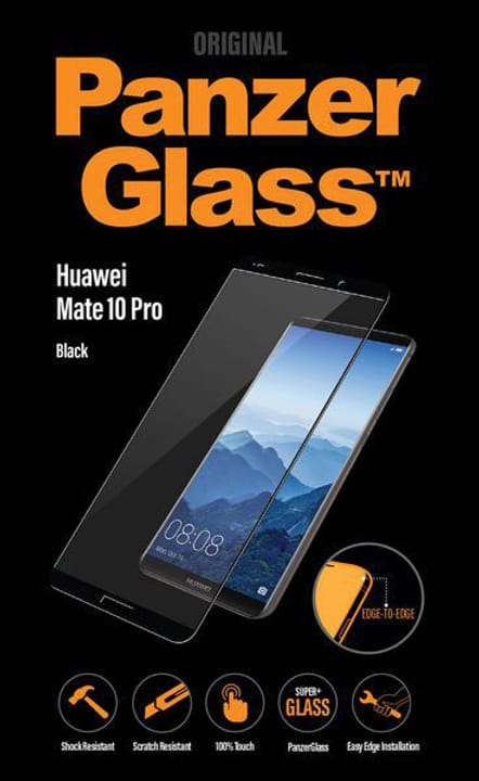 Flat Huawei Mate 10 Pro noir Protection d'écran Panzerglass 785300133196 Photo no. 1