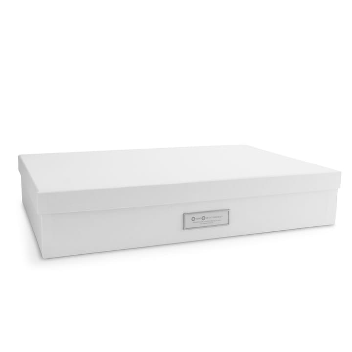 BIGSO CLASSIC Boîte A3 386069300000 Dimensioni L: 43.5 cm x P: 31.0 cm x A: 8.5 cm Colore Bianco N. figura 1