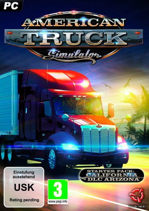 PC - American Truck Simulator Starter Pack Physisch (Box) 785300120397 Bild Nr. 1