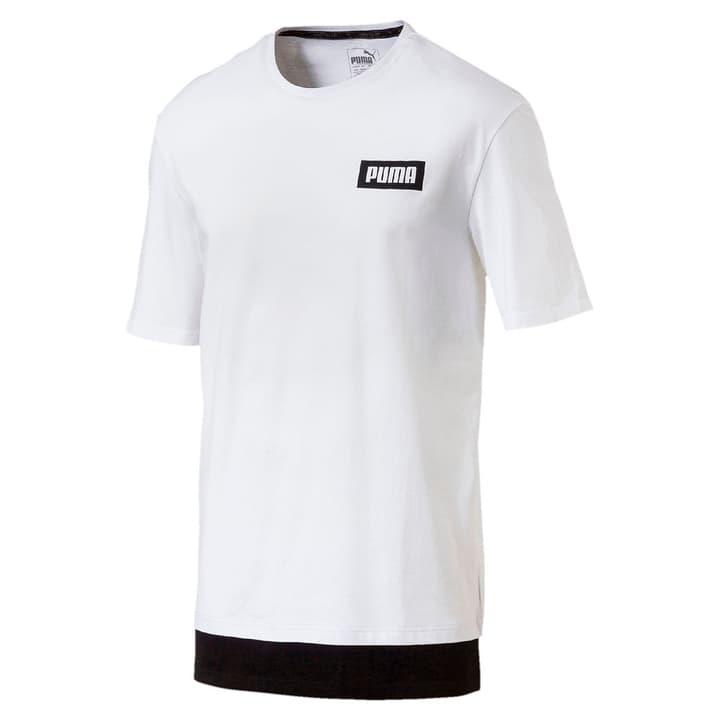 Rebel Tee T-shirt pour homme Puma 462381700310 Couleur blanc Taille S Photo no. 1