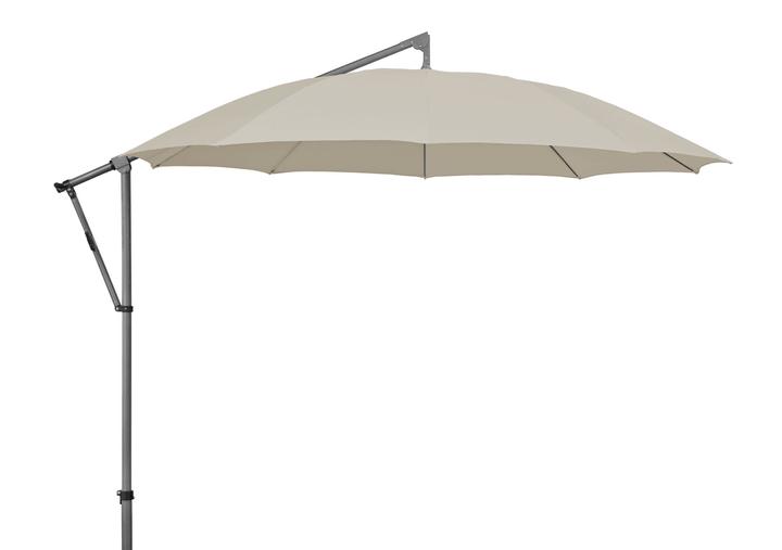 PENDOLINO Ombrellone, 300 Suncomfort by Glatz 753146200081 Colore del rivestimento Grigio chiaro N. figura 1