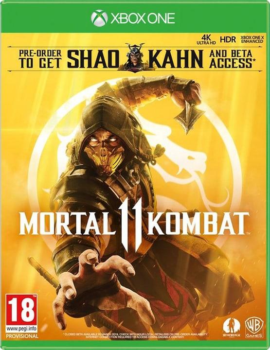 Xbox One - Mortal Kombat 11 D/F Box 785300141152 Bild Nr. 1