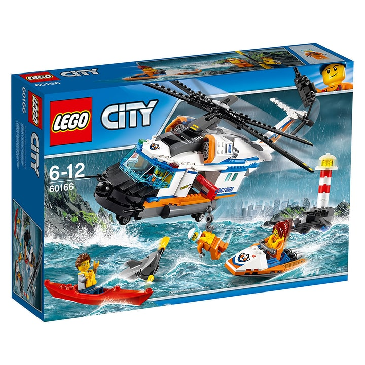 LEGO City Elicottero della Guardia Costiera 60166 748847600000 N. figura 1