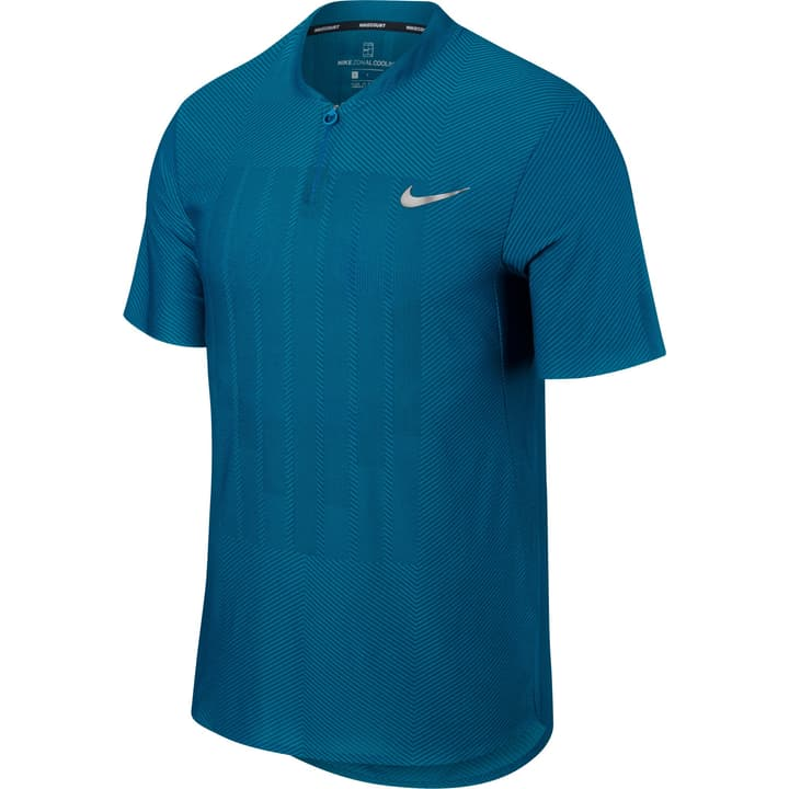 Court Zonal Cooling Advantage Polo pour homme Nike 473224300665 Couleur petrol Taille XL Photo no. 1
