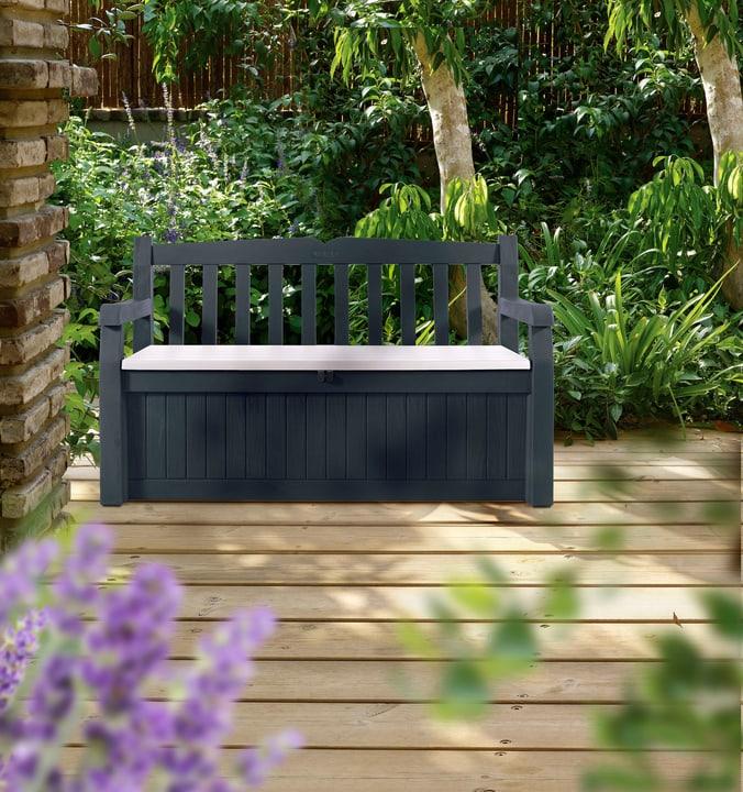 Banc de jardin Keter 647176300000 Couleur Gris Photo no. 1