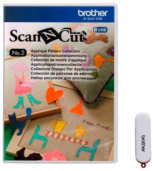 Design ScanNCut Nr. 2 schémas d'application Brother 785300142659 N. figura 1