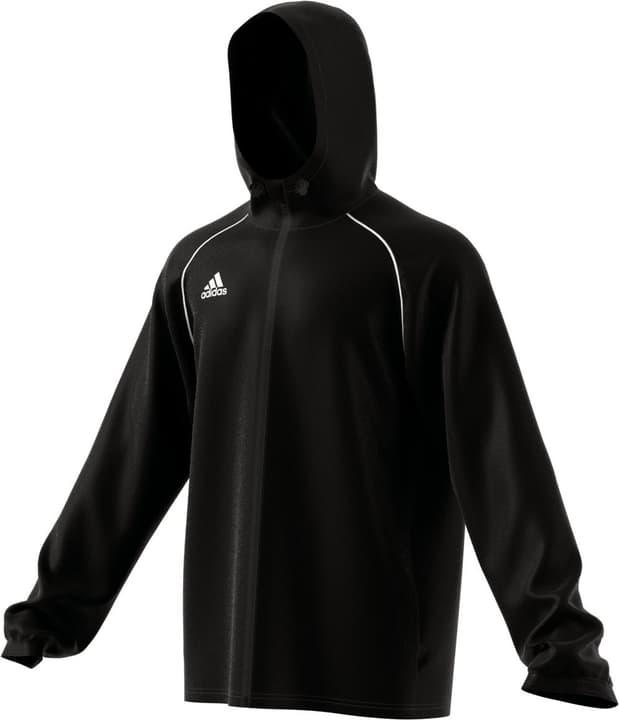 Core 18 Rain Jacket Veste de pluie pour homme Adidas 498284500520 Couleur noir Taille L Photo no. 1