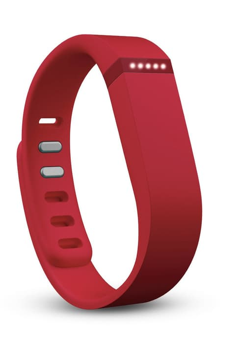 Flex Activity Tracker rosso Fitbit 797854100000 N. figura 1