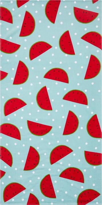MELONE Strandtuch 404734000043 Farbe Hellblau Grösse B: 75.0 cm x H: 150.0 cm Bild Nr. 1