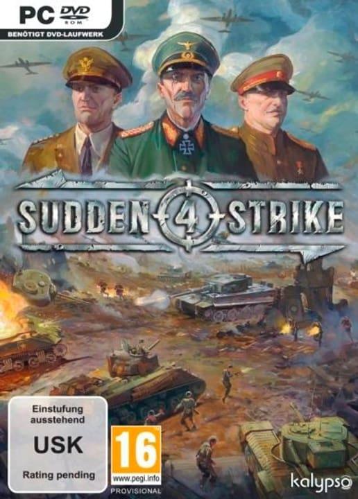 PC - Sudden Strike 4 Box 785300122058 Bild Nr. 1