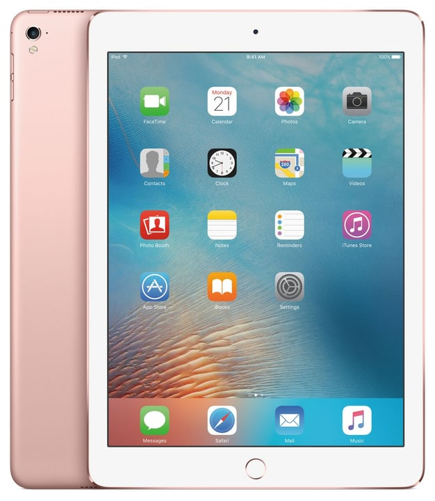 "iPad Pro 9.7"" LTE 128GB rose gold Apple 798125400000 Photo no. 1"