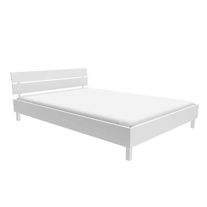 TOPLINE Bett HASENA 403549000000 Farbe Weiss Grösse B: 140.0 cm x T: 200.0 cm Bild Nr. 1