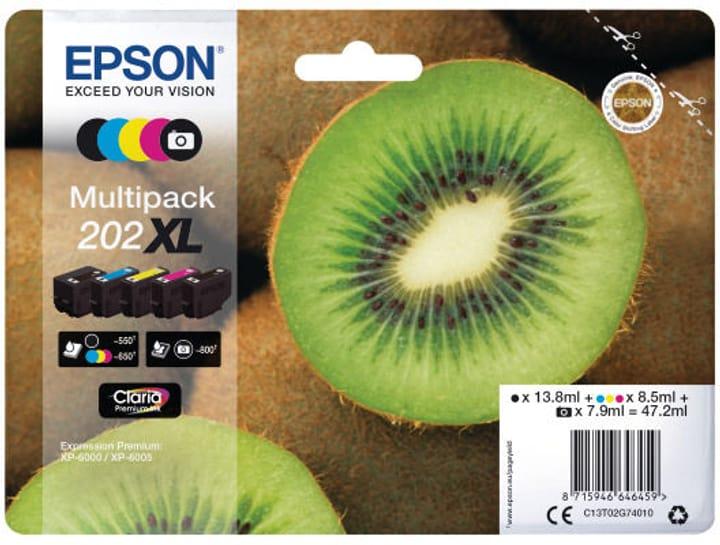 Epson Tintenpatronen Multipack 202XL Cartouche d'encre Epson 798548500000 Photo no. 1