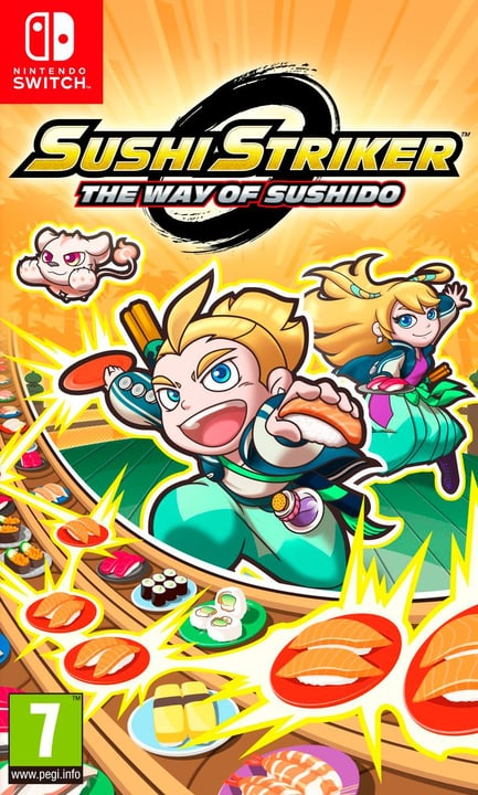 Switch - Sushi Striker: The Way of Sushido (D) Box 785300134072 Photo no. 1