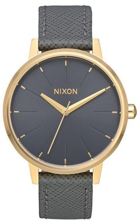 Kensington Leather Gold Charcoal 37 mm Orologio da polso Nixon 785300137015 N. figura 1