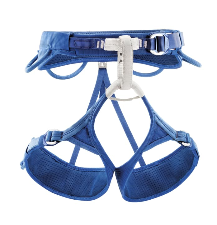 Adjama Baudrier d'escalade pour homme\, taille S Petzl 491272100340 Couleur bleu Taille S Photo no. 1