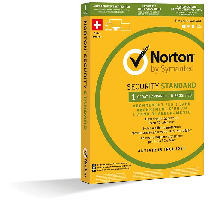 PC/Mac/Android/iOS - Internet Security 3.0 1 Device Physique (Box) Norton 785300120483 Photo no. 1