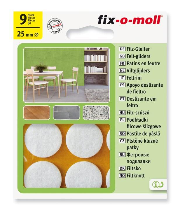 Piedini in feltro Fix-O-Moll 607067500000 N. figura 1