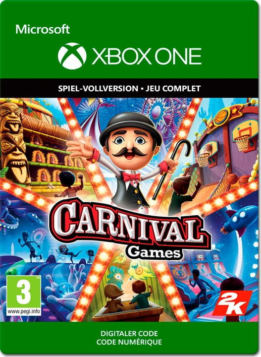 Xbox One - Carnival Games Download (ESD) 785300140402 Photo no. 1