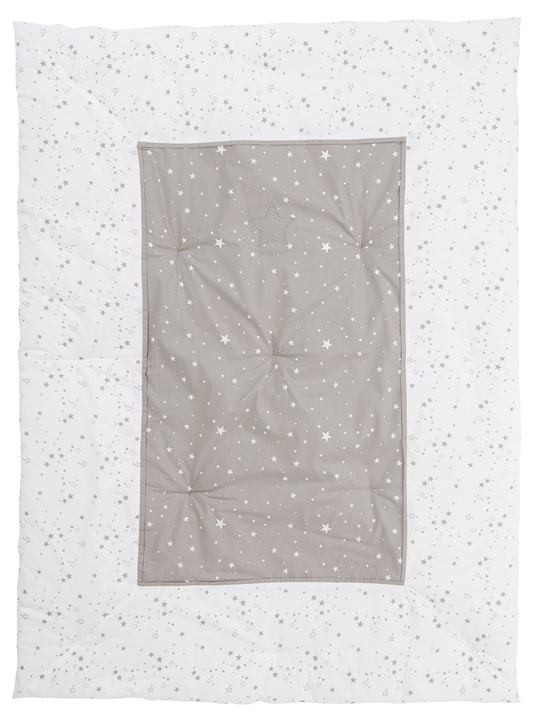 AURA Couverture 451648243110 Couleur Blanc Dimensions L: 100.0 cm x P: 135.0 cm x H:  Photo no. 1