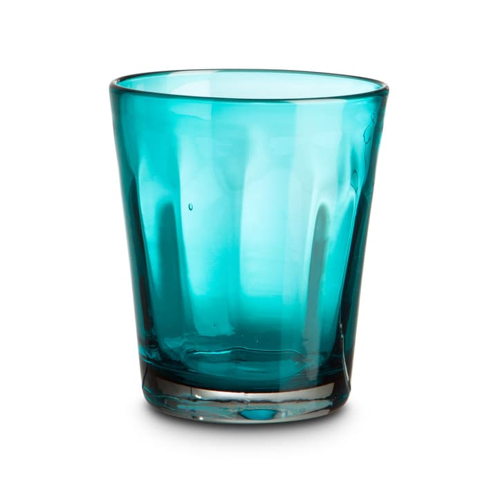 COLORADO Verre à eau 393083900000 Dimensions L: 9.0 cm x P: 9.0 cm x H: 10.0 cm Couleur Turquoise Photo no. 1