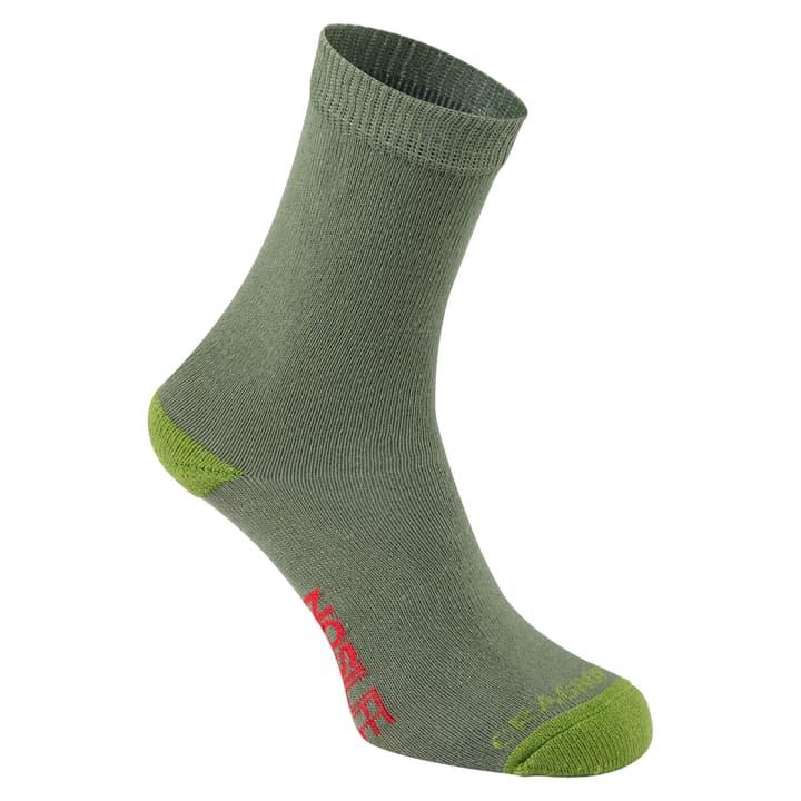 NosiLife Travel Duopack Kinder Socken Craghoppers 497178336167 Farbe olive Grösse 36-39 Bild-Nr. 1