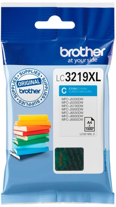 LC-3219XLC cyan Cartouche d'encre Brother 798540900000 Photo no. 1