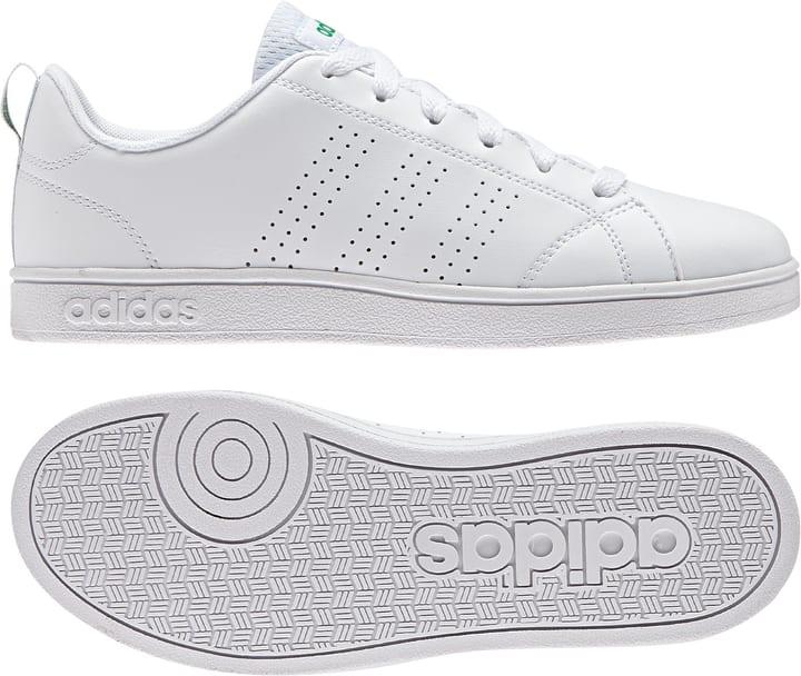 VS Advantage Clean Scarpa da bambino per il tempo libero Adidas 460659432010 Colore bianco Taglie 32