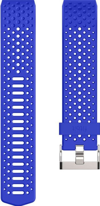 Charge 2 Bracelet sportif Bleu Large Fitbit 785300131123 Photo no. 1