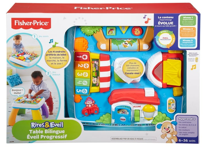 Fisher-Price Table Bilingue Eveil Progressif (F) 746383590100 Photo no. 1