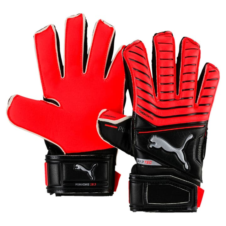 One Protect 18.3 JR Gants de gardien de but de football pour enfant Puma 461932606030 Couleur rouge Taille 6 Photo no. 1