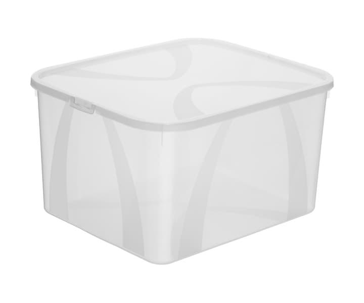 Arco Box 25L, transparent Rotho 603630300000 Farbe Transparent Grösse L: 41.7 cm x B: 35.1 cm x H: 23.0 cm Bild Nr. 1
